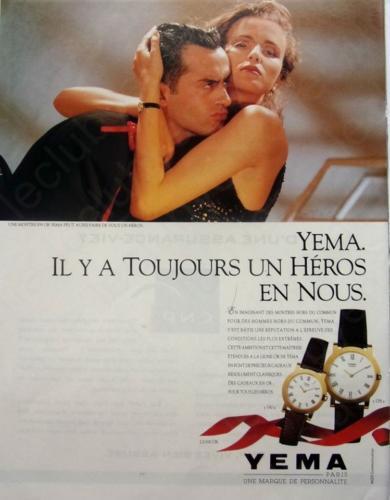 Publicité YEMA 198? | L'heure des Héros