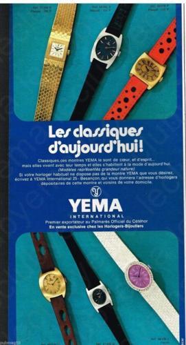 Publicité YEMA 1968 | Classiques d'aujourd'hui ; Chippées aux hommes_02