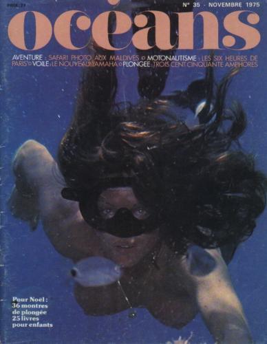 36 montres de plongée au banc d'essai - Océans N°35 - 1975