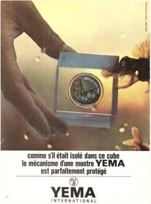 Publicité YEMA 196? | Cube