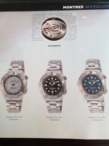YEMA Seaspider. Catalogue 2000. Crédit Patrick Malfoy. ClubYema. P.6/14