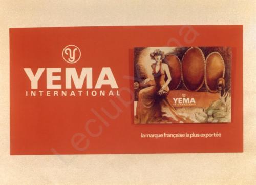 Publicité YEMA 196? | HBJO Robe rouge