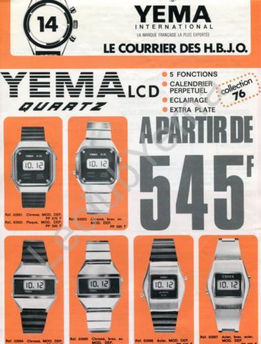 YEMA Collection 1976. Le courrier des H.B.J.O_01