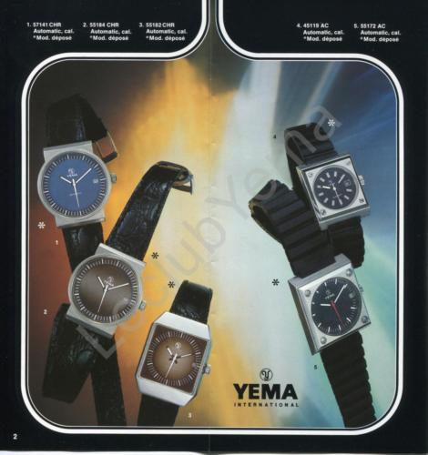 YEMA_Collection 1976_Dépliant_02
