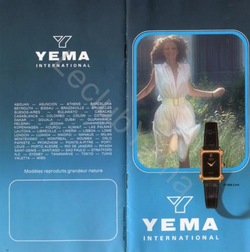 Collection YEMA - mars 1980
