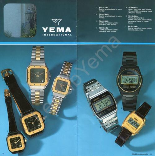 Collection YEMA - mars 1980 - P.10,11/12