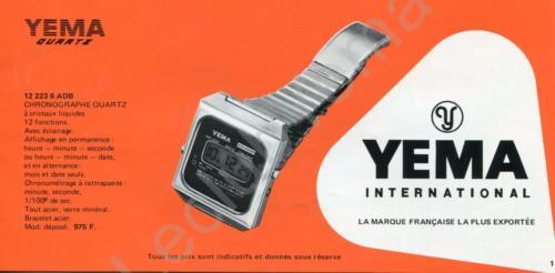 Collection YEMA Quartz 1978 ?