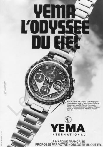 Publicité YEMA | Campagne Odyssée Flygraf