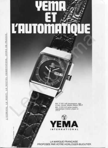 Publicité YEMA | Campagne Odyssée YEMA Automatique