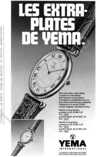 Publicité YEMA | Campagne Odyssée Les extra plates