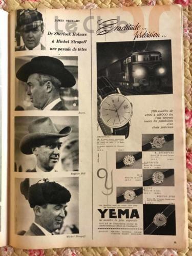 publicité novembre 59