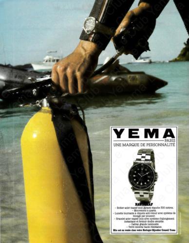 Publicité YEMA 198? | YEMA Navygraf III