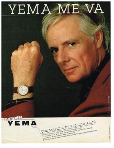 Publicité YEMA 1982 | YEMA me va ; Citadine homme ronde