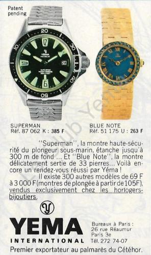 yéma superman 1969 GF