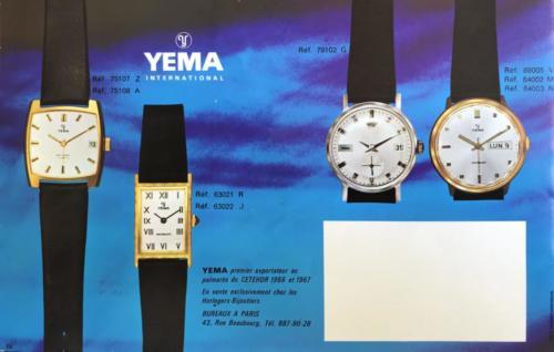 Collection YEMA 1968 (?) 12