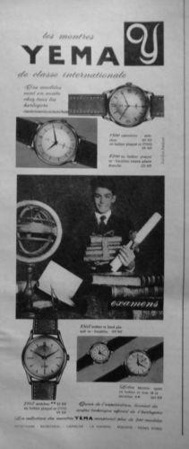 Publicité YEMA 196? | Classe internationale ; Diplôme