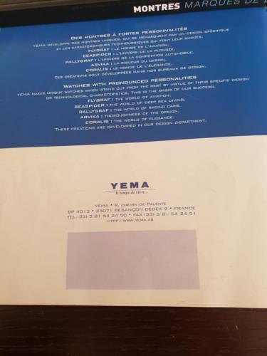 YEMA Catalogue 2000. Crédit Patrick Malfoy. ClubYema. P.14/14