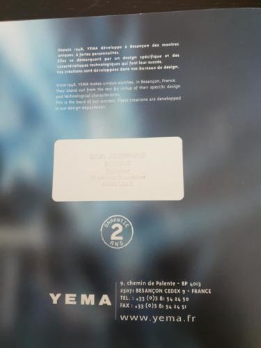 YEMA Catalogue 2004. Crédit Patrick Malfoy. ClubYema. P14:14