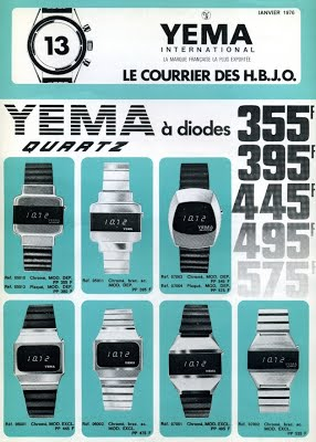 Collection YEMA 1976 | Courrier HBJO