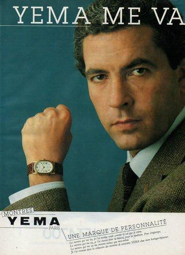 Publicité YEMA 1982 | YEMA me va ; Citadine homme