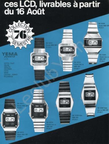 Collection YEMA Quartz LCD_S2 1976_01