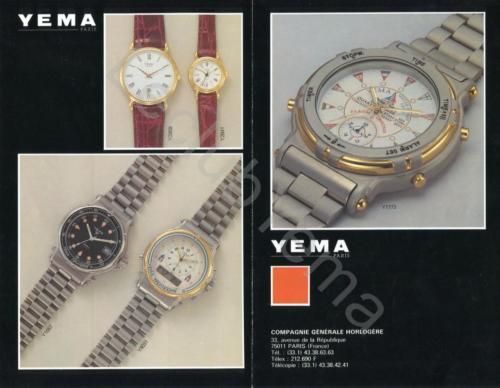 Collection YEMA 199? | YEMA Paris CGH 01