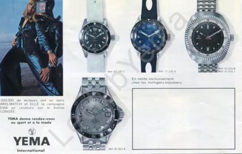 Collection YEMA 1969 | Campagne Paris Match Sport et Mode ; Superman grise 87.062.K p.5/5