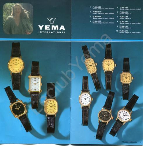 Collection YEMA - mars 1980 - P.2,3/12