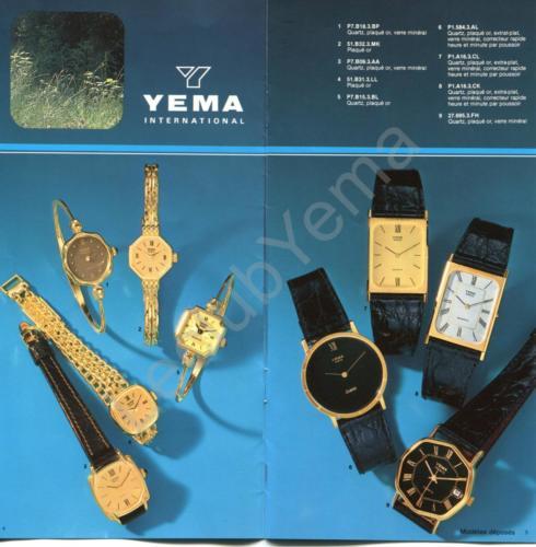 Collection YEMA - mars 1980 - P.4,5/12