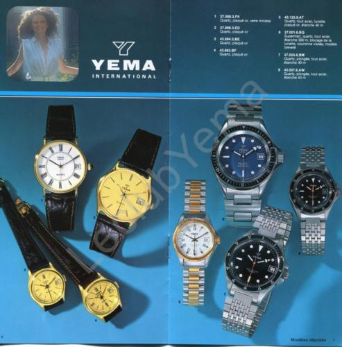 Collection YEMA - mars 1980 - P.6,7/12