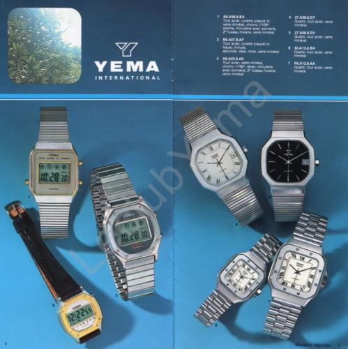 Collection YEMA - mars 1980 - P.8,9/12
