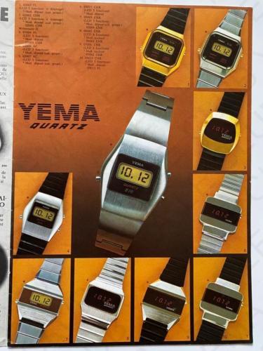 CATALOGUE 1976 MONTRE YEMA 3