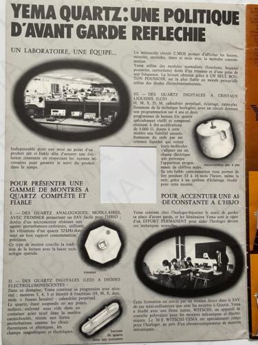 CATALOGUE 1976 MONTRE YEMA 2